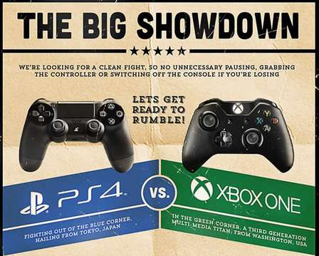 """playstation vs xbox"""