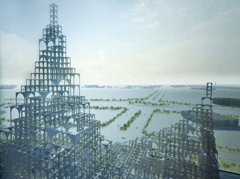 Airy Islamic-Inspired Towers - This Piece of Tower Architecture is More Open Than Closed