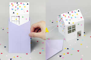 This Adorable DIY Paper Invitation is Loaded with Surprises