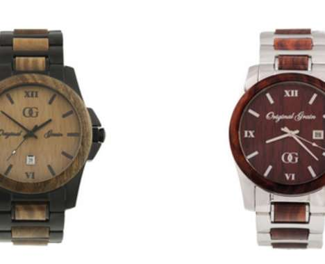 Androgynous Wood Watches