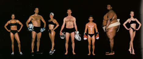Diverse Olympic Body Shoots - Howard Schatz Shows Us How Varied Athletic Body Types Can Be