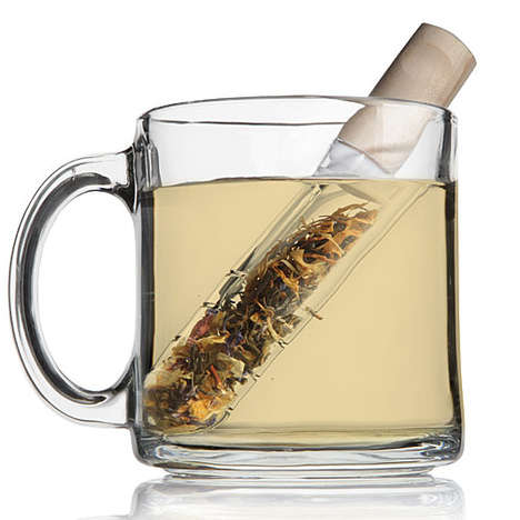 Test Tube Tea Infusers - ThinkGeek