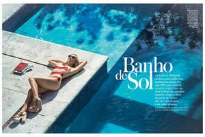 The InStyle Brazil 'Banho de Sol' Photoshoot Stars Giovanna Ewbank
