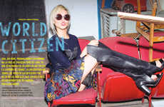Ladylike Pop Star Fashion - The Nylon Mexico Photoshoot Stars Soo Joo Park