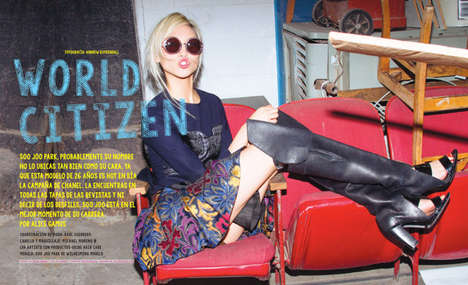 Ladylike Pop Star Fashion - The Nylon Mexico November 2013 Photoshoot Stars Soo Joo Park
