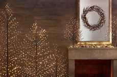 The Starlit Tree is Minimalist and Twinkling for Contemporary Homes