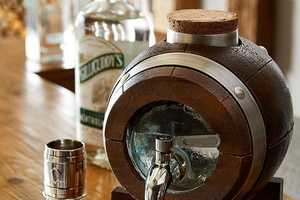 This Whiskey Barrel Tap is a Fun Drinking Accessory