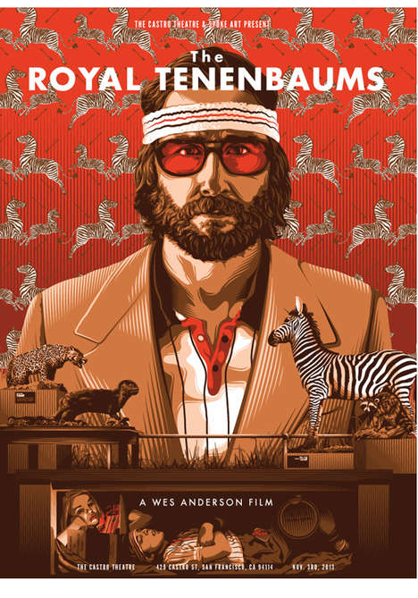 wes anderson tribute art