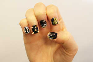 This Hunger Games Nail Look Represents Katniss Everdeen's District