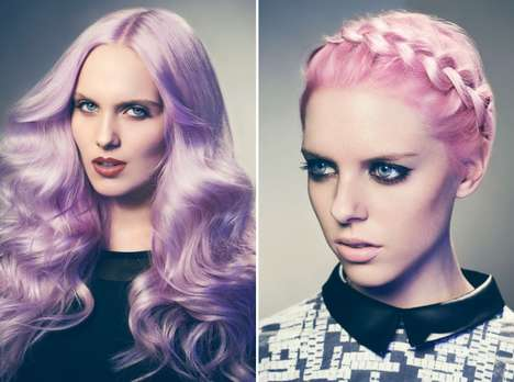 Polished Punk Photography - The L'Oreal Feria Pastel Toning Conditioner Campaign by Peter Pedo
