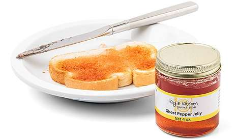 Spicy Breakfast Spreads - Ghost Pepper Jelly Will Instantly Wake You Up in the Morning