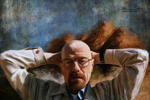 This Breaking Bad Fan Art Depicts the Show in a Classical Medium