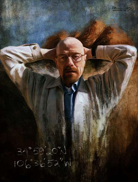 Classical Drug Dealer Paintings - This Breaking Bad Fan Art Depicts the Show in a Classical Medium