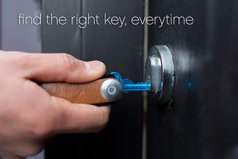 Dapper Convenient Key Carriers - The Orbitkey Compacts Your Keys Into a Sleek Leather Case