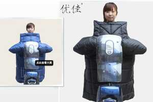 These Chinese Scooter Accessories Keep Riders Cozy in the Winter