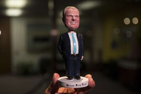 Political Bobblehead Dolls - The Limited Edition Rob Ford Bobblehead is Silly Political Fun
