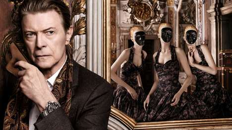 Venetian-Inspired Fashion Ads - This David Bowie Louis Vuitton Ad is an Exquisite Display of Style