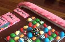Social Media Game Desserts - The Candy Crush Cake Will Addict People Immediately