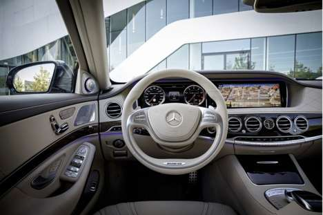 Futuristic Luxury Automobiles - The 2015 Mercedes S65 AMG is Ahead of Its Time