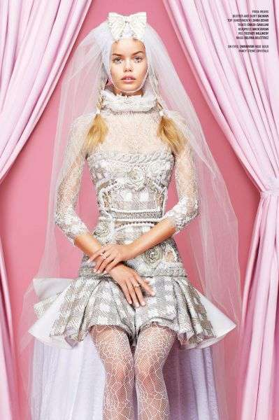 Barbie-Like Bridal Editorials - The V Magazine