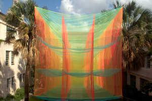 Cubic Prism by Akane Moriyama Hangs at the University of Texas