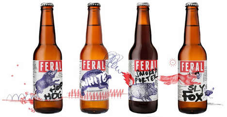 Feral Beer Packaging