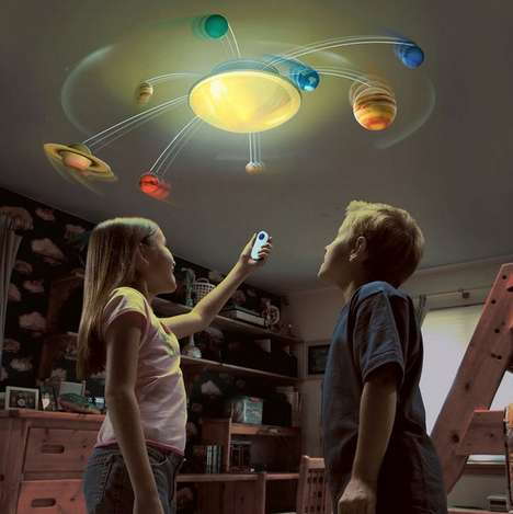 Orbiting Planet Toys - Explore the Wonders of Space with the 'Solar System in My Room' Toy