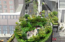 Green Bowl Getaways - The Spur Offers a Tranquil Green Public Space for Manhattanites