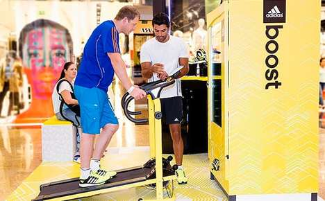 Treat-Dispensing Treadmills - This Nice Treadmill Rewards Runners for a Good Work Out