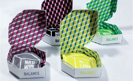 NRG Organic Tea packaging