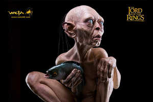 Lord of the Rings Fans Will Love This Life-Size Gollum Statue