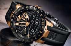 Gilded Perpetual Timekeepers