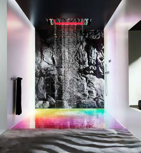 Rainbow-Generating Sensory Showers - The