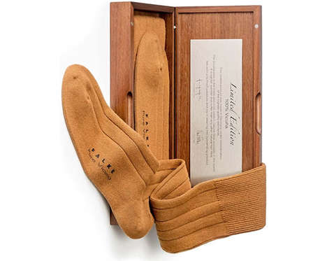 Pocket-Pinching Socks - The Falke Vicuna Socks Will Keep Your Feet Warm But Your Wallet Cold