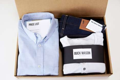 Wardrobe Delivery E-Tailers - Buck Mason Lets Customers Try on Clothes at Home Before Purchasing
