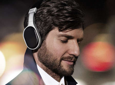 Ergonomically Sculpted Beat Blasters - The KEF M500 Headphones Provide a Superior Audio Experience