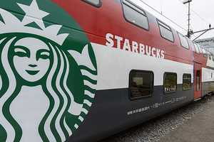 The Starbucks Train Serves Coffee with a Side of Comfort & Style