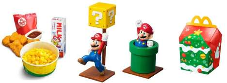 Nostalgic Fast Food Toys - These Super Mario McDonalds Toys are Fun Collectibles for Many Age Groups