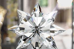 Celebrate Christmas with This Crystal Christmas Star by Swarovski