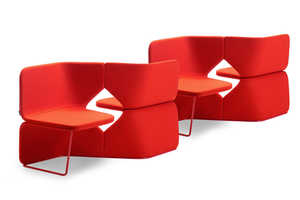 This Conversation Seating Set Lets Two or More Chat Comfortably