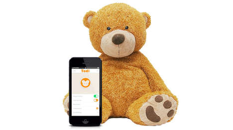 Toddler-Tracking Teddies - Tedi is a Hi-Tech Toy That Keeps an Eye on a Child