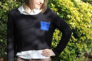 Add Knitted Pockets to any Jumper with This Simple DIY Activity
