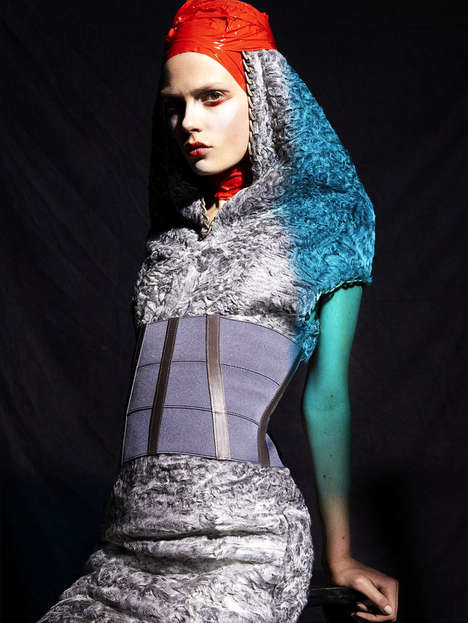 Conceptually Veiled Captures - The Chrysalide Numero Editorial Highlights Vanguard Accessories
