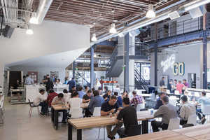 Pinterest's New Creative Workspace is in a San Fransisco Warehouse
