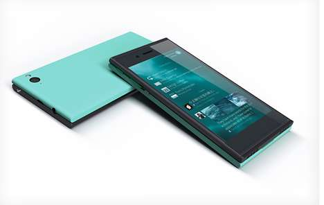Customizable OS Smartphones - Jolla's Open System Phone Can be Customized Inside & Out