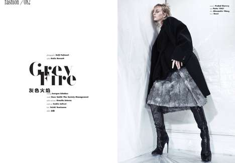 Grungy Fur Editorials - The Vision China
