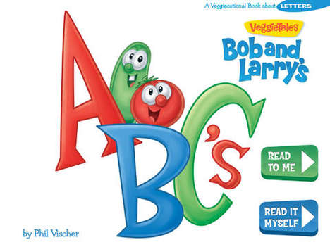 Interactive Alphabetized Apps - VeggieTales' Educational Kids App is Fun and Skill-Building