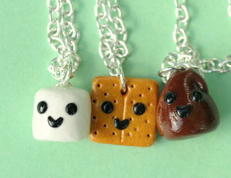 Foodie Friendship Accessories - The Pumpkin Pye Boutique Charms are Sweet and Delectable Tokens