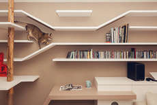 15 Feline-Friendly Shelves - From Floating Cat Shelves to Integrated Feline Furniture