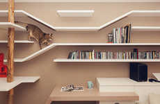 15 Feline-Friendly Shelves